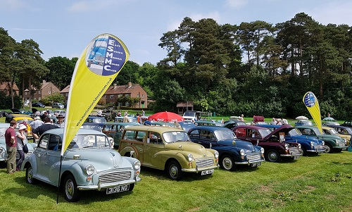 Morris Minors at Staplefield